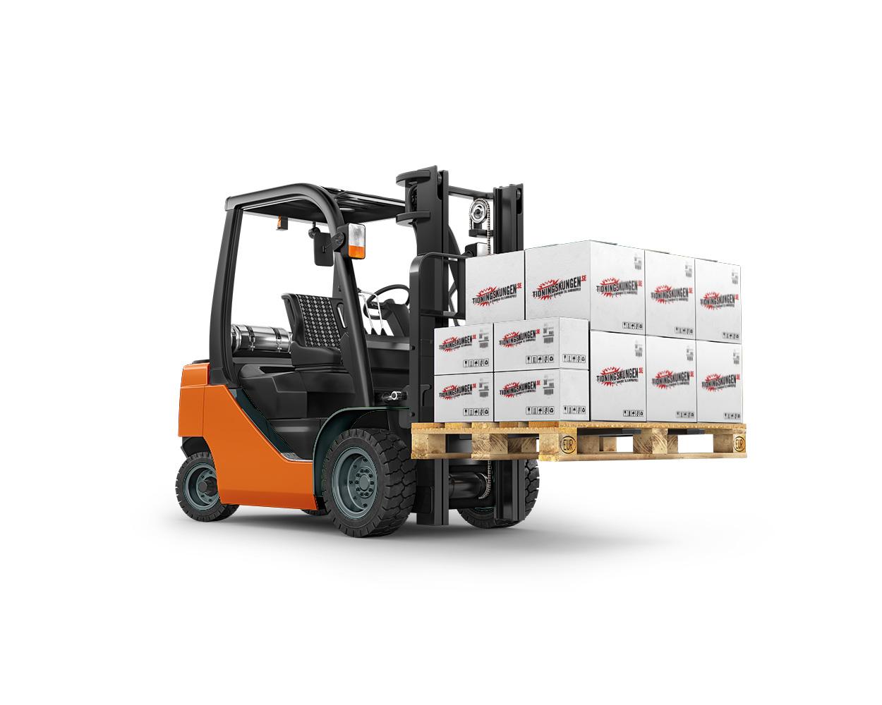Jobbex Service | Truck med kartonger
